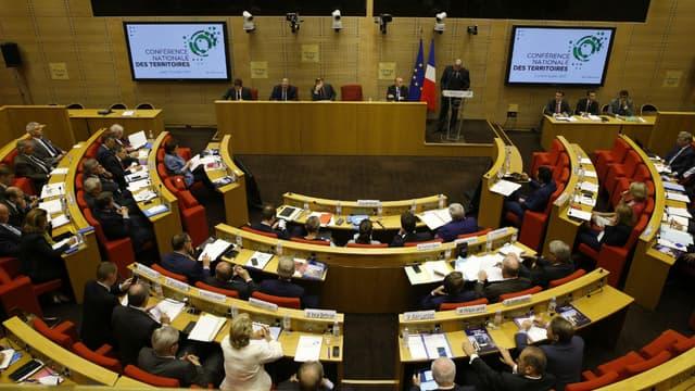 Le Sénat accueille la Conférence nationale des Territoires, le 17 juillet 2017. Photo d'illustration.