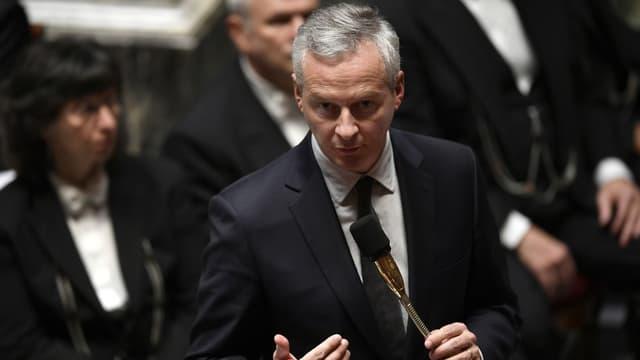 """Bruno Le Maire a défendu ce qu'il pense être une """"bonne"""" décision."""