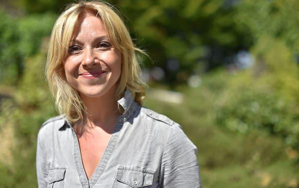 Florence Portelli aux journées d'été de LR, en septembre 2017.