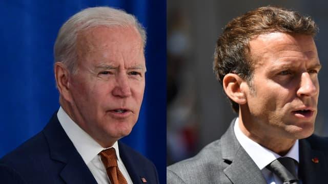 Joe Biden et Emmanuel Macron vont se rencontrer lors d'un entretien bilatéral formel au G7.