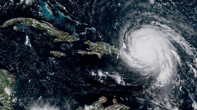 L'ouragan Irma, le 6 septembre.