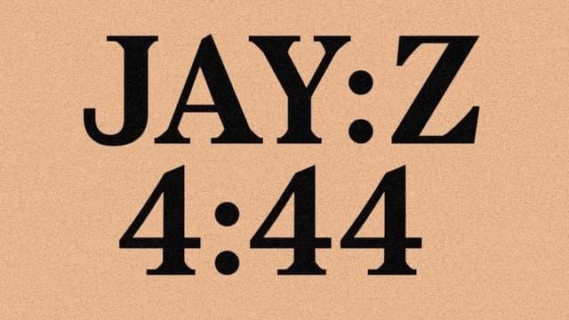"""Le 13e album du rappeur Jay Z s'intitule """"4:44""""."""