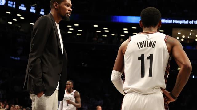 Kevin Durant et Kyrie Irving