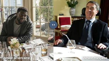 """Le remake américain du film """"Intouchables"""" sera porté par Kevin Hart et Bryan Cranston"""