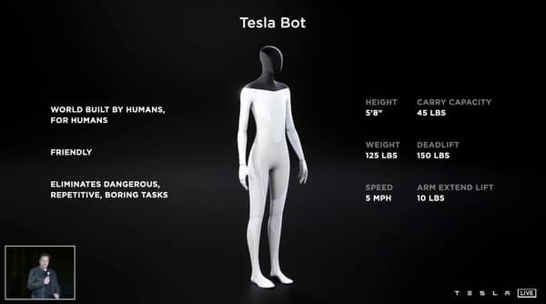 """Le but de ce robot serait """"d'éliminer les tâches dangereuses répétitives et ennuyeuses"""" pour les humains."""