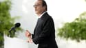 François Hollande à Vitry, dans le Val-de-Marne, vendredi.