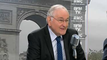 Jacques Cheminade, invité de Jean-Jacques Bourdin le 15 avril 2017.