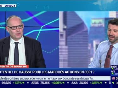 Arnaud Faller (CPR AM) : comment aborder 2021 sur les marchés actions ? - 06/01