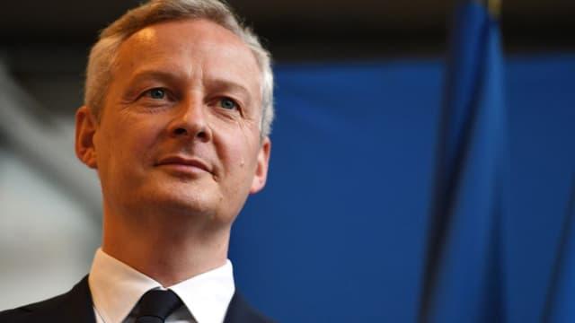 """Bruno Le Maire assure que """"sur le cap"""" Emmanuel Macron et lui-même partagent le même point de vue"""