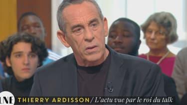 """Thierry Ardisson sur le plateau de """"La Nouvelle Edition"""""""