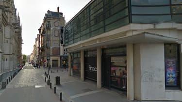 La Fnac de Rouen, rue Saint Lô.