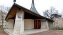 Eglise copte à Chatenay-Malabry, près de Paris. La communauté copte, qui fête vendredi la Noël orthodoxe, craint de nouvelles attaques après l'attentat suicide probablement inspiré par Al Qaïda qui a tué 23 personnes et fait une centaine de blessés devant