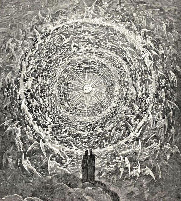 L'empyrée de Dante