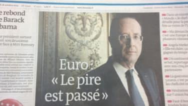 Les propos de François Hollande sur la sortie imminente de crise en zone euro n'ont pas convaincu le milieu des affaires
