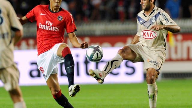 Malgré un but du Réunionais, le PSG laisse filer trois précieux points contre Bordeaux