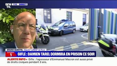 """Condamnation de Damien Tarel: pour Bruno Questel, """"le mandat de dépôt est justifié"""""""