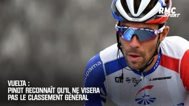 Vuelta : Pinot reconnaît qu'il ne visera pas le classement général