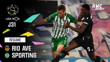 Résumé : Rio Ave 0-2 Sporting – Liga portugaise (J31)