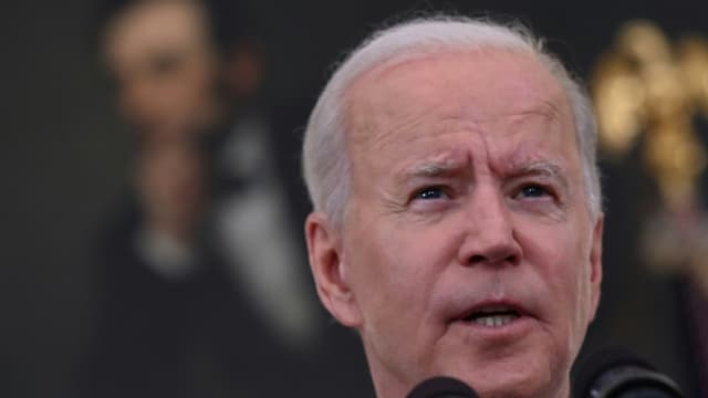 Le président américain Joe Biden s'exprime depuis la Maison Blanche le 18 juin 2021 (photo d'illustration)