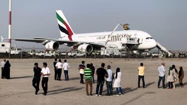 Emirates fait actuellement pression sur Airbus pour qu'une version remotorisée de l'A380 voie le jour.