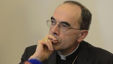 L'archevêque de Lyon, Philippe Barbarin