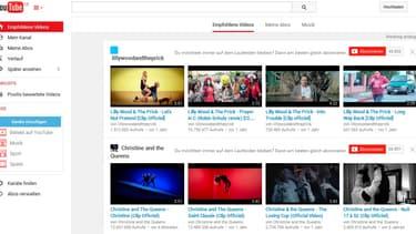 YouTube a été condamné pour atteinte au droit d'auteur en Allemagne.