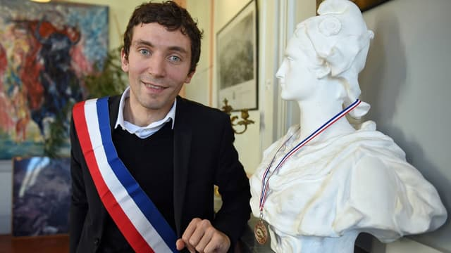 Le maire de Beaucaire, Julien Sanchez