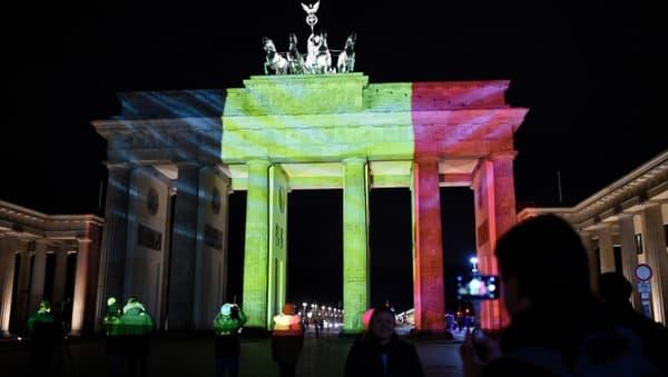 La porte de Brandebourg à Berlin.