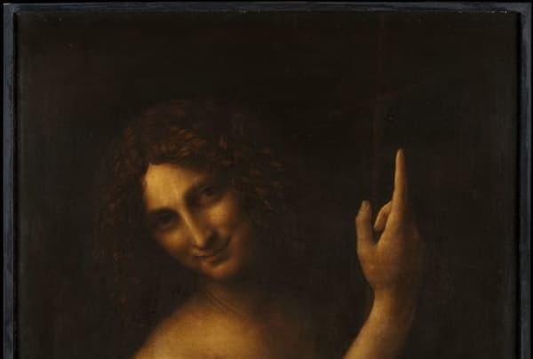 """Saint Jean-Baptiste"" par Leonard de Vinci"