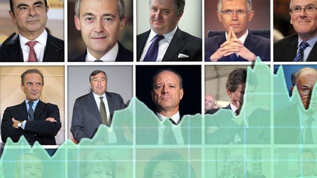 L'exécutif des grandes entreprises françaises a été largement remanié en 2014.