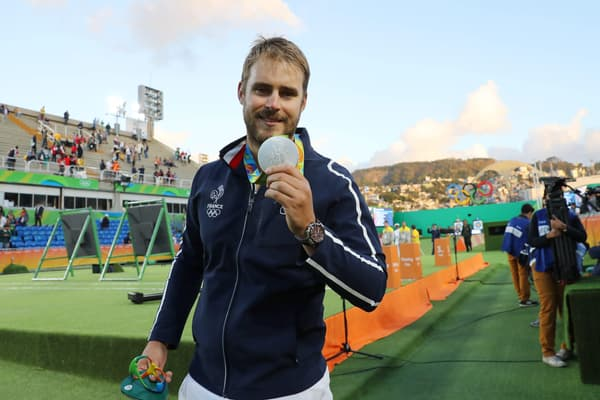Valladont à Rio en 2016