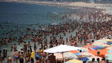 La plage d'Ipanema bondée en décembre 2012 (illustration).