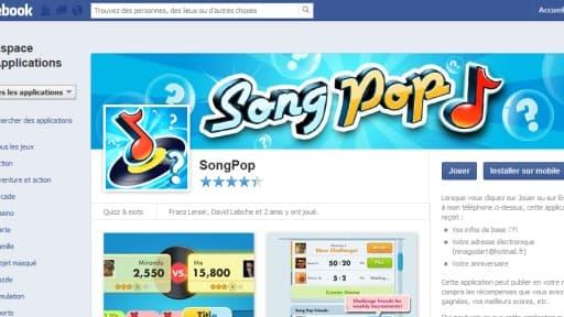 Song Pop est utilisé par plus de 80 millions de personnes dans le monde.