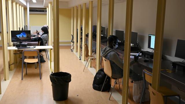 Image d'illustration - Etudiants travaillant à l'université Aix-Marseille, le 19 novembre 2020