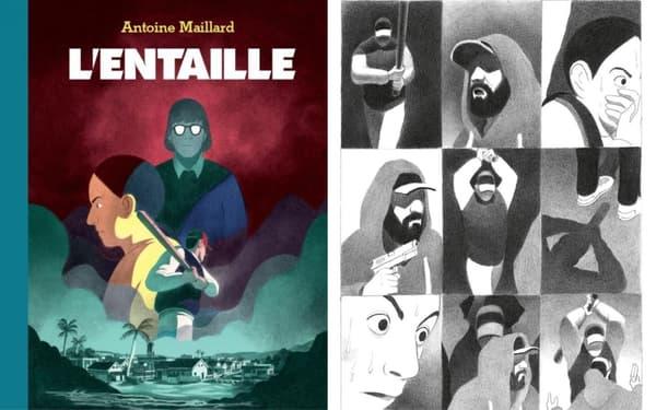 """La BD """"L'Entaille"""" d'Antoine Maillard"""