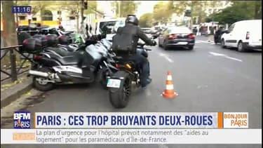 Les deux roues trop bruyants dans Paris risquent une forte amende