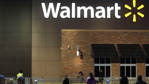 Walmart propose ce service dans douze magasins.