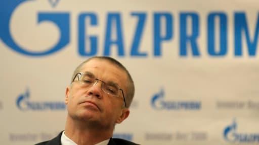 Alexandre Medvedev, le vice-président du géant russe Gazprom