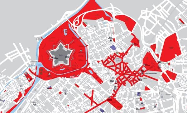 Le port du masque sera principalement obligatoire dans le Vieux-Lille et le centre-ville de Lille.