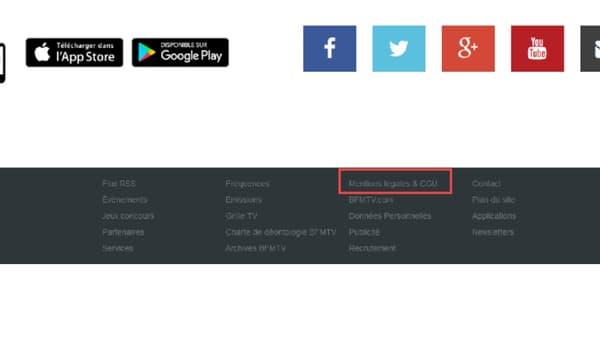 Exemple sur le site de BFMTV.com