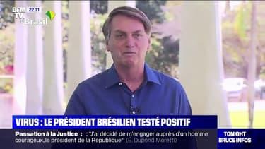"""Le président brésilien, Jair Bolsonaro, qui avait qualifié le covid-19 de """"petite grippe"""" est testé positif au coronavirus"""