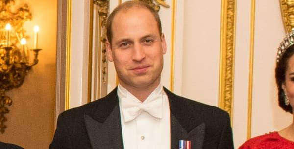 Le prince William et Kate Middleton à Buckingham Palace, le 8 décembre 2016