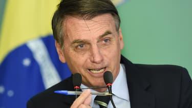 Jair Bolsonaro (Photo d'illustration)