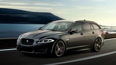 """Le XF Large Sportbrake sera le dernier """"wagon"""" Jaguar, la marque préférant -elle aussi- exploiter le filon des SUV."""