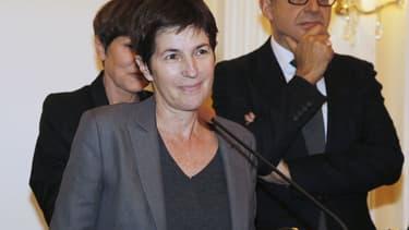 Christine Angot le 2 novembre 2015 à Paris