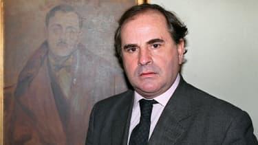 Pierre Combescot à Paris, en 1991