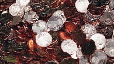 Primaire à droite: il règle ses 2 euros avec 200 pièces de 1 centime (photo d'illustration). - François Guillot - AFP