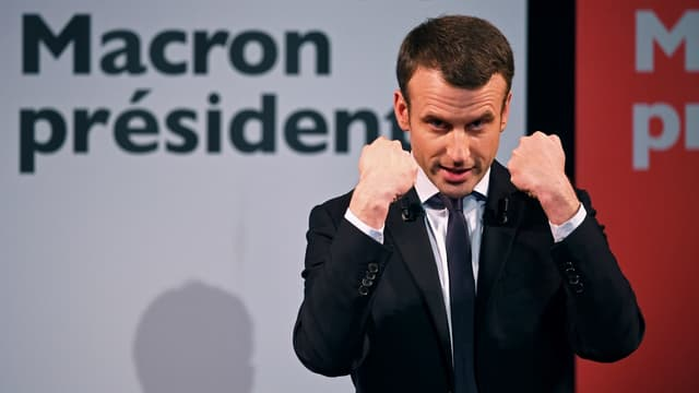 Emmanuel Macron, le 8 mars 2017, à Paris.