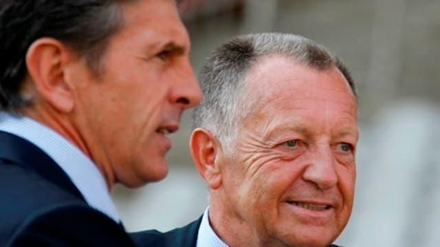 Jean-Michel Auls face à Claude Puel
