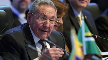 Le président cubain Raul Castro au Sommet des Amériques, à Panama City, le 11 avril.